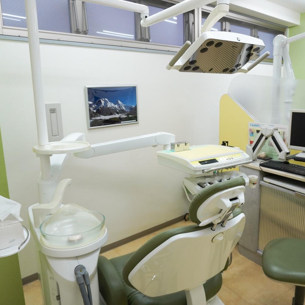 横澤歯科医院診察室